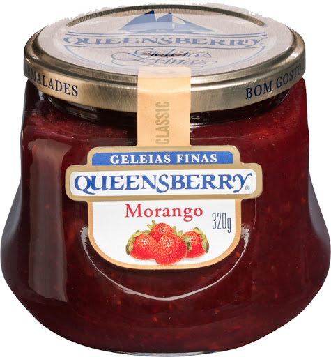 Geléia Finas Queensberry Morango 320g